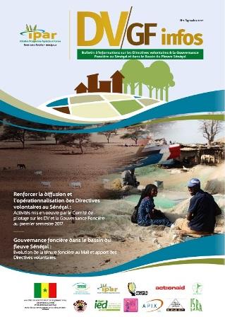 Bulletin d'informations sur les Directives volontaires et la Gouvernance Foncière au Sénégal et dans le Bassin du fleuve Sénégal.
